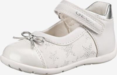 GEOX Ballerina 'Elthan' in weiß, Produktansicht