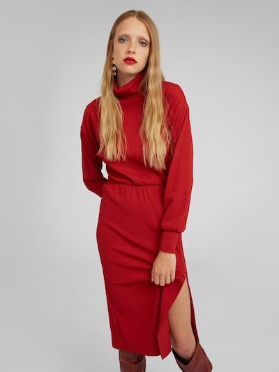 EDITED Kleid 'Kesia' in rot, Modelansicht