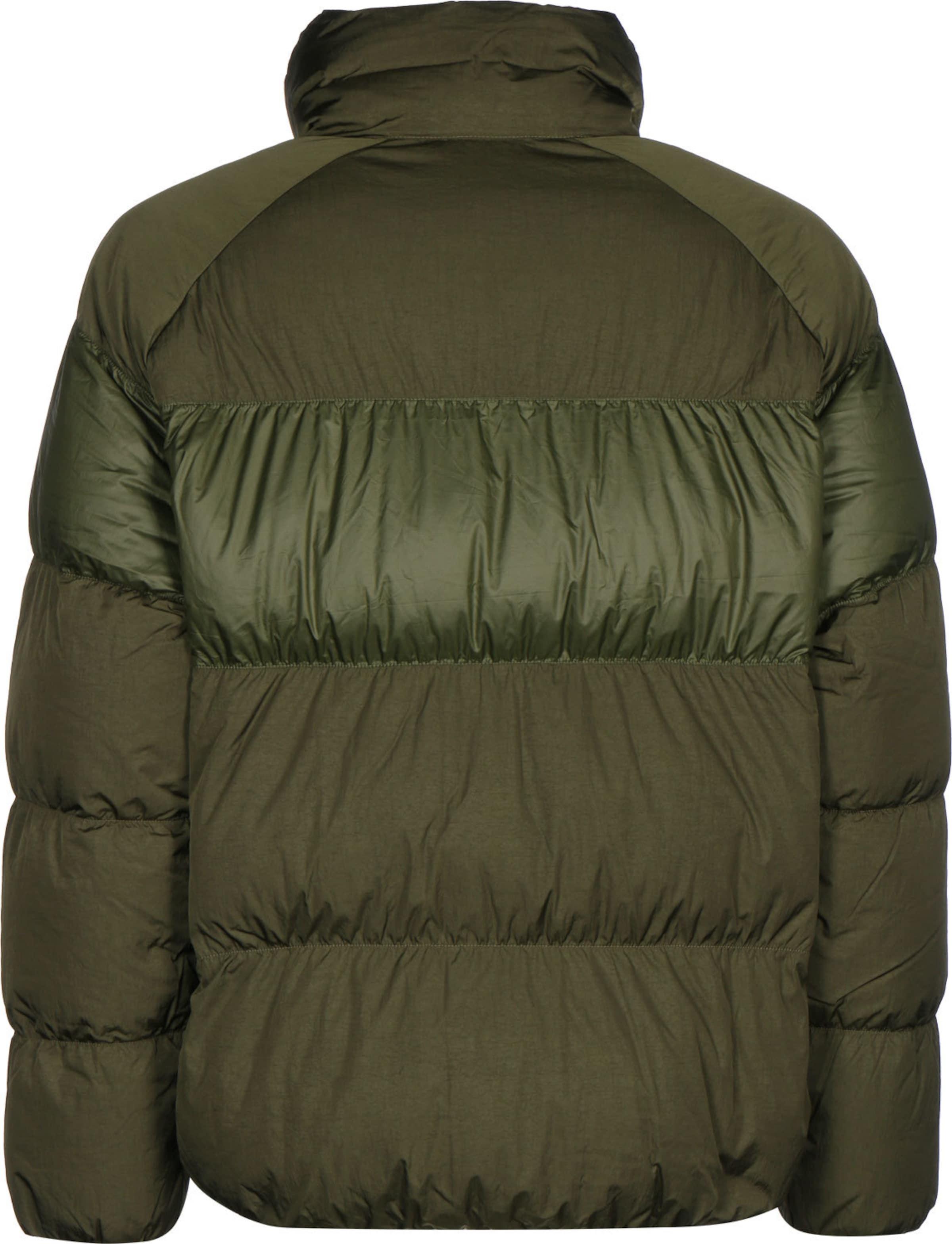 Nike Sportswear Jacke in dunkelgrün Unifarben KJ55533021
