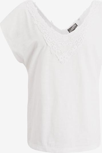 DREIMASTER Shirt in weißmeliert, Produktansicht