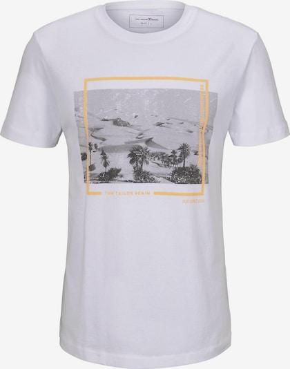 TOM TAILOR DENIM Shirt in Gemengde kleuren / Wit OJwLtGsX