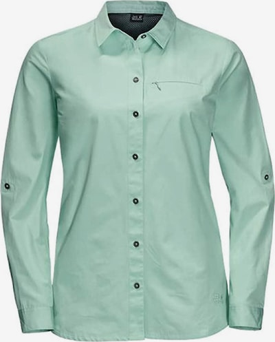 JACK WOLFSKIN Hemd 'Lakeside Roll-Up' in jade, Produktansicht