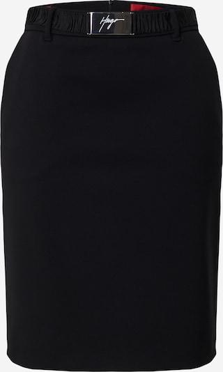 HUGO Rok 'Ryena' in de kleur Zwart, Productweergave