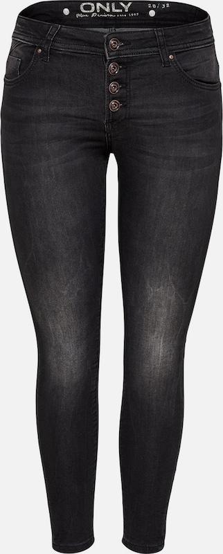 ONLY Carmen Reg Ankle Jogg Skinny Fit Jeans in schwarz schwarz schwarz denim  Großer Rabatt a5d748