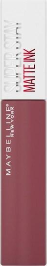 MAYBELLINE New York Lippenstift 'Superstay Matte Ink' in rosa, Produktansicht