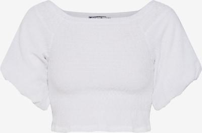 fehér Fashion Union Top 'JENNY', Termék nézet