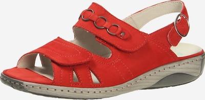 WALDLÄUFER Sandale in hellrot, Produktansicht