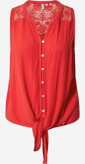 Superdry Bluse 'Morgan' in rot, Produktansicht