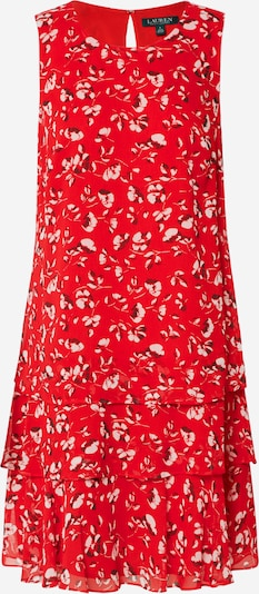 Lauren Ralph Lauren Kleid 'TYREE-SLEEVELESSDAY DRESS' in creme / rot, Produktansicht