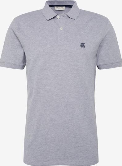 SELECTED HOMME T-Shirt 'SH Daro' en gris chiné, Vue avec produit