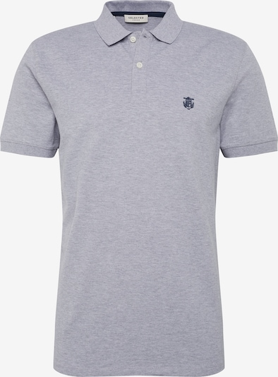 SELECTED HOMME Poloshirt 'SH Daro' in graumeliert, Produktansicht