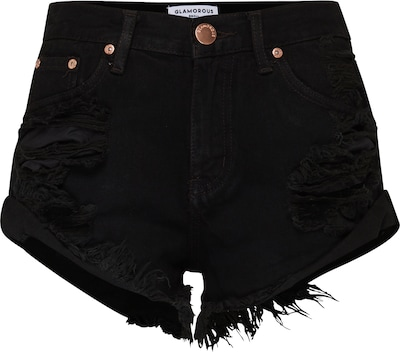 GLAMOROUS 'KA2975' High Waist Denim Shorts