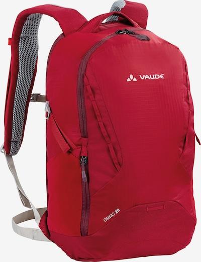 VAUDE Rucksack 'Trek & Trail Omnis' in rot, Produktansicht