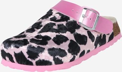 SUPERFIT Zapatillas de casa en rosa / negro, Vista del producto