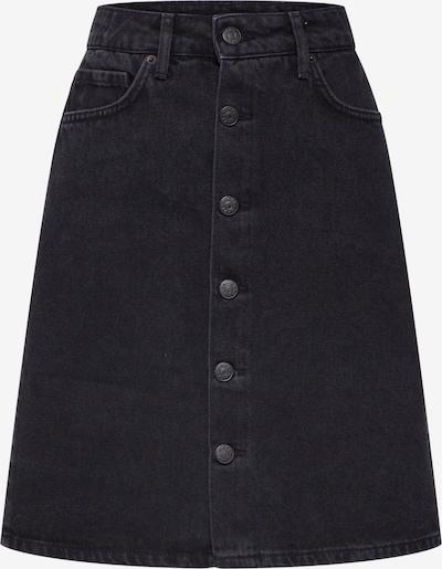 WHY7 Rok 'DANI' in de kleur Black denim, Productweergave