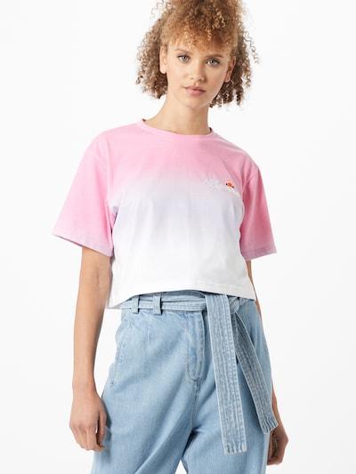 ELLESSE Shirt 'Rerta' in pink / weiß, Modelansicht