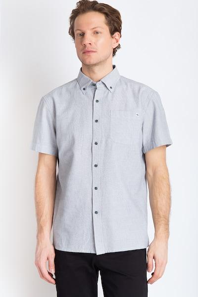 Finn Flare Hemd in blau / weiß: Frontalansicht