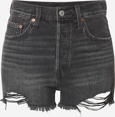 LEVI'S Shorts '501® HIGH RISE' in grey denim, Produktansicht
