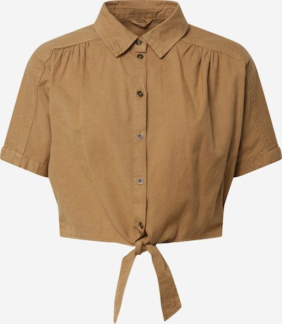 ONLY Koszulka 'ONLLOTUS-NEOLA' w kolorze khakim: Widok z przodu