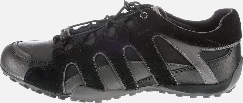 Laag Geox In A' Zwart Snake 'uomo Sneakers Grijs aq5Pxv8q