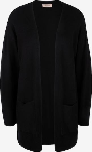 TRIANGLE Cardigan en noir, Vue avec produit