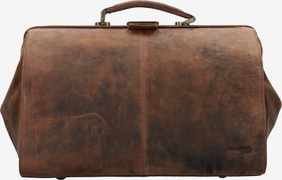 GREENLAND Koffer 'Montenegro' in braun, Produktansicht