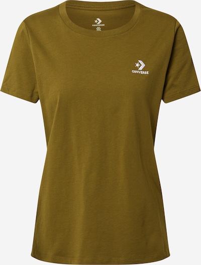 CONVERSE Shirt in oliv, Produktansicht