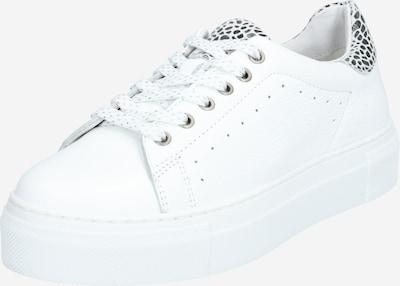 PS Poelman Sneakers laag '5884' in de kleur Zwart / Wit, Productweergave