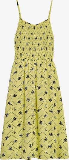 Calvin Klein Jeans Kleid in gelb / schwarz, Produktansicht