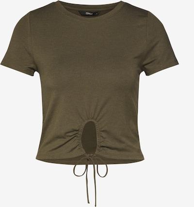 ONLY T-shirt en vert: Vue de face