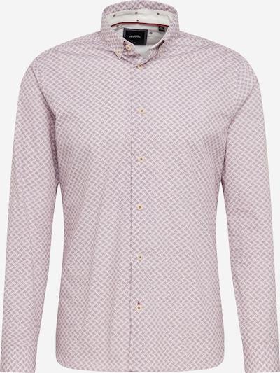 BURTON MENSWEAR LONDON Hemd  'ls plum dotted geo' in rosa, Produktansicht