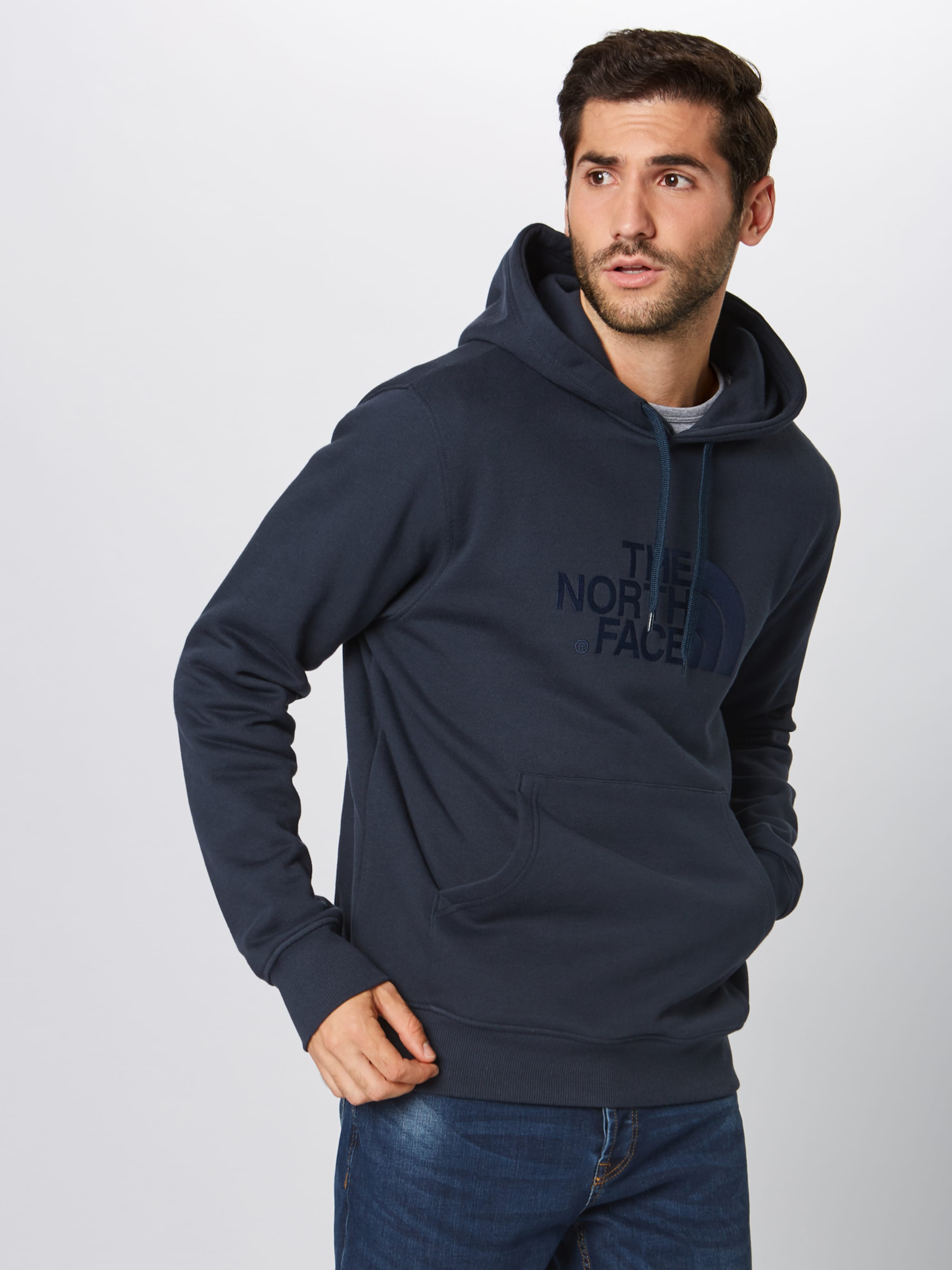 Sweatshirt In The Navy North Face 80wkOPn