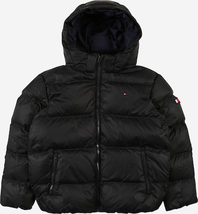 TOMMY HILFIGER Winter jacket 'Essential' in black, Item view