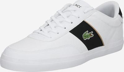 LACOSTE Sneakers laag 'Court-Master' in de kleur Groen / Zwart / Wit, Productweergave
