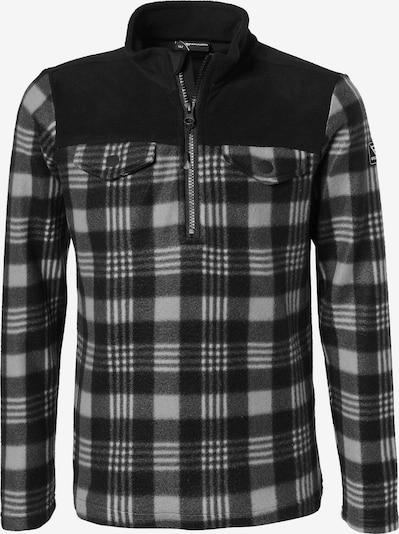 BRUNOTTI Pullover 'Slaters' in basaltgrau / hellgrau / schwarz, Produktansicht