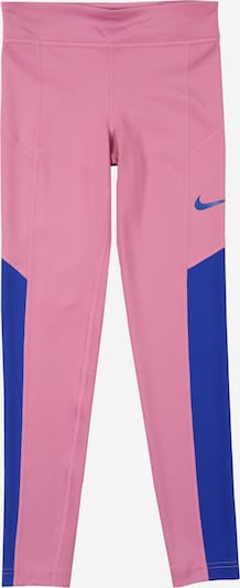 NIKE Tights 'TROPHY' in blau / pink, Produktansicht