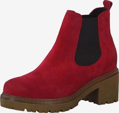 MARCO TOZZI Chelsea Boot in rot / schwarz, Produktansicht