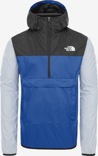 THE NORTH FACE Windbreaker 'FANORAK' in blau / schwarz, Produktansicht
