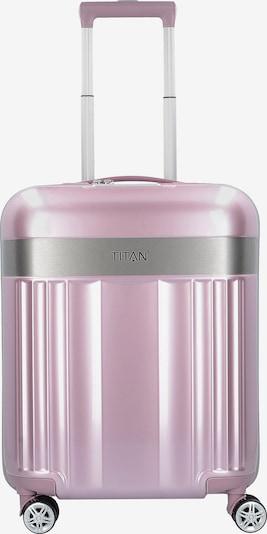 TITAN Kabinentrolley 'Spotlight Flash S' in rosa / silber, Produktansicht