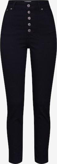 Jeans 'Joaline Jeans' ABOUT YOU pe denim negru: Privire frontală