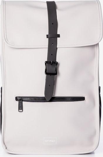 SPIRAL Rucksack 'ZONE' in schwarz / weiß / offwhite, Produktansicht