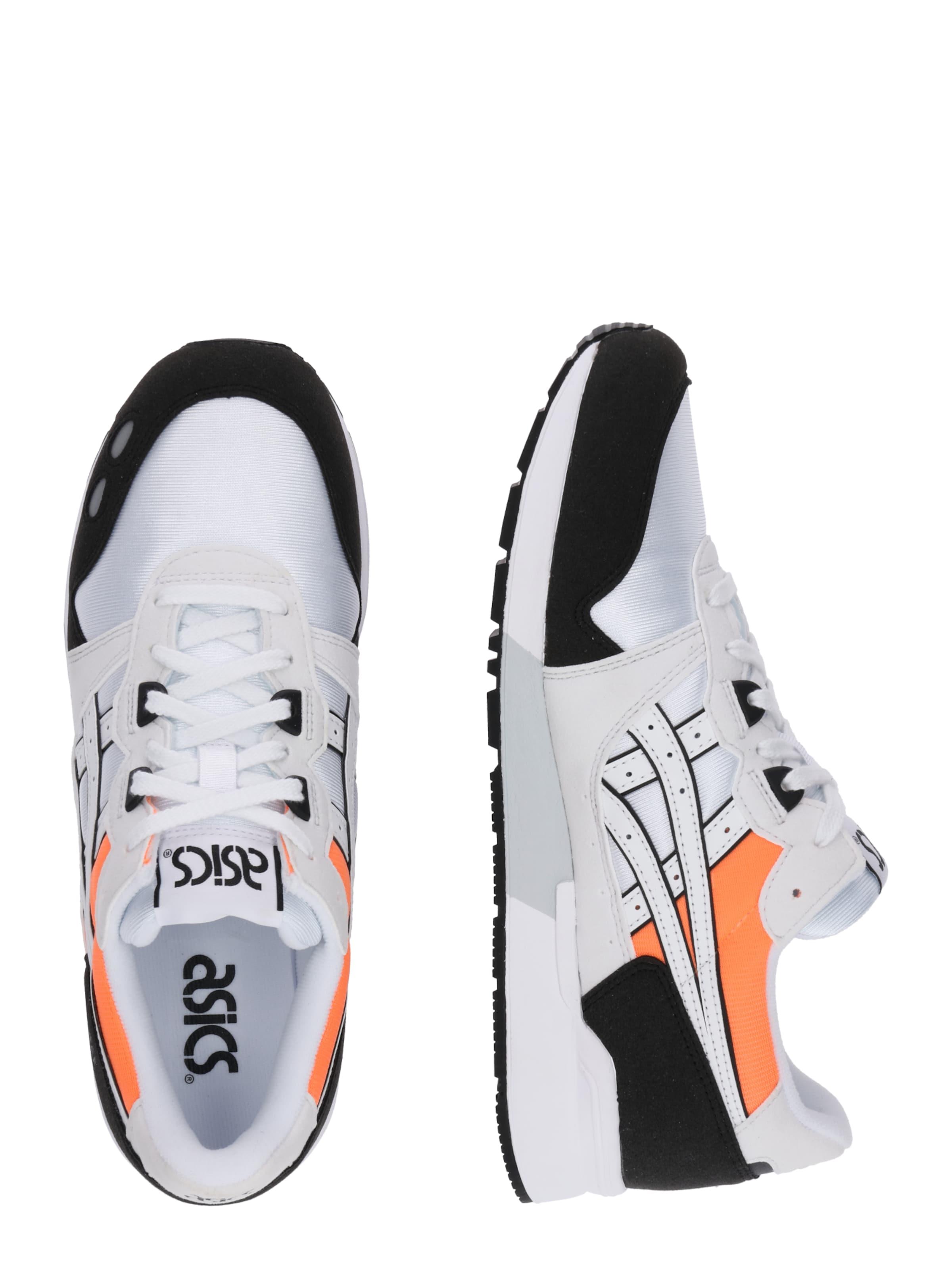 Tiger OrangeSchwarz Sneaker Asics In 'gel Weiß lyte' RLAj54