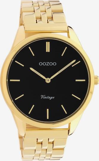 OOZOO Uhr 'C9987' in gold / schwarz, Produktansicht