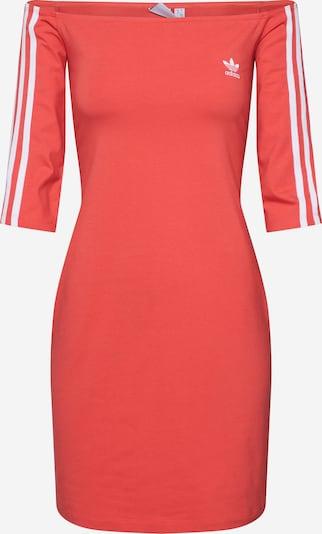 ADIDAS ORIGINALS Kleid in melone / weiß: Frontalansicht