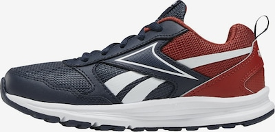 REEBOK Sportschuh in dunkelblau / dunkelrot / weiß, Produktansicht