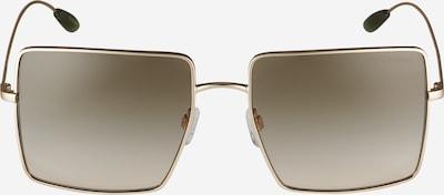 Emporio Armani Lunettes de soleil '0EA2101' en marron / or, Vue avec produit