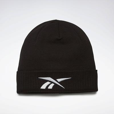 REEBOK Mütze in schwarz / weiß, Produktansicht
