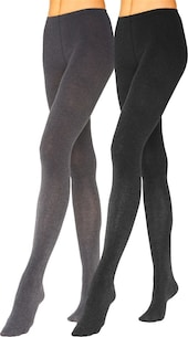 LAVANA Strumpfhose in anthrazit / schwarz