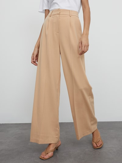 EDITED Hose 'Kelly' in beige, Modelansicht
