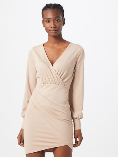 IVYREVEL Kleid 'DRAPY  DRESS' in beige, Modelansicht